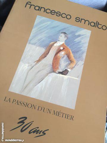 Catalogue Francesco Smalto dédicacé, autographe 90 Rocquencourt (78)