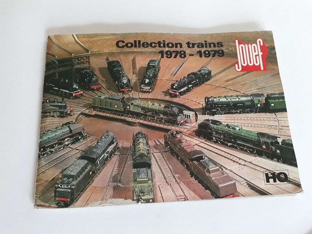 Catalogue JOUEF   Collection trains 1978 ? 1979   12 Gex (01)