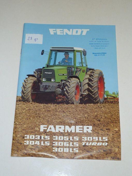 Catalogue Tracteurs FENDT FARMER série 300 0 Marcilly-le-Hayer (10)