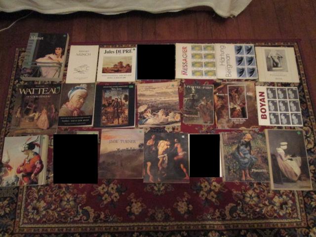 Catalogues expos peinture 5 Herblay (95)