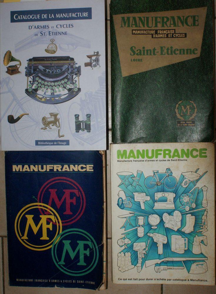 4 catalogues MANUFRANCE  80 Montcy-Notre-Dame (08)