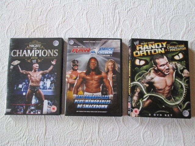 DVD de catch de la World Wrestling Entertainment (WWE) 5 Herblay (95)