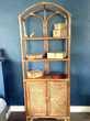 cause déménagement Meuble étagères vintage bambou/rotin