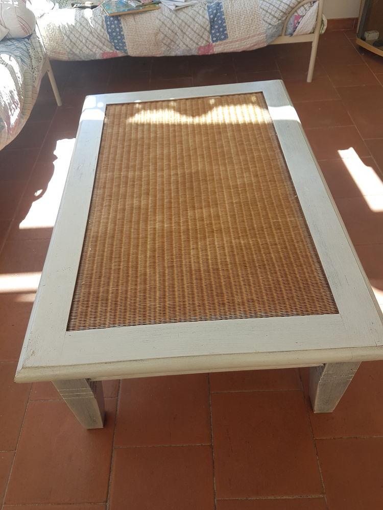 Cause déménagement table basse avec plateau en verre