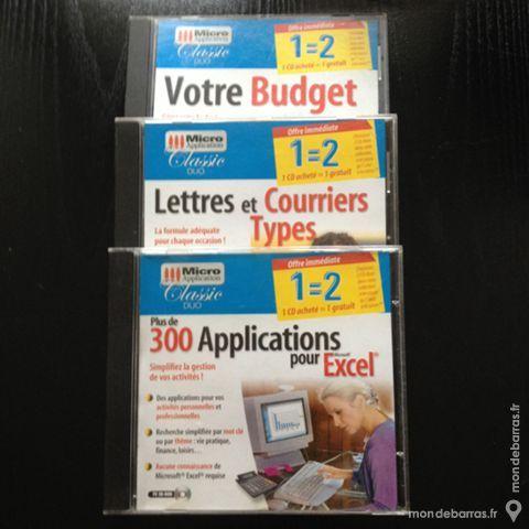 Lot de 3 CDROM Micro Application 4 Zuytpeene (59)