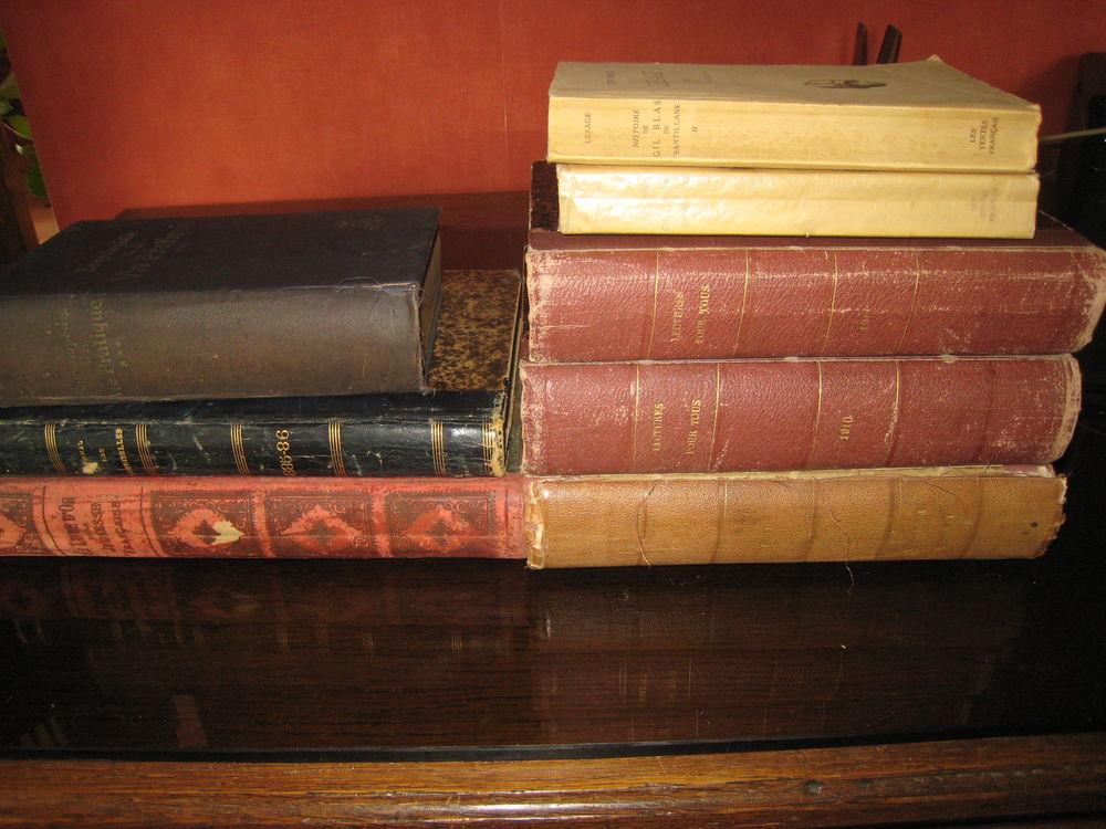 Je céde un lot 8 anciens livres dont 6 reliés cuir... 0 Brignoles (83)
