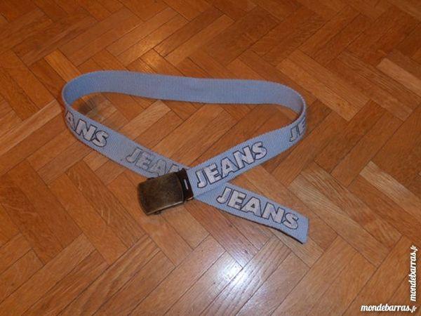 Ceinture inscription  jeans  (V3) 1 Tours (37)