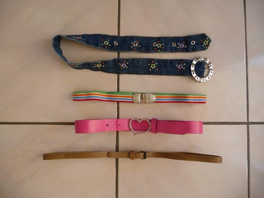 4 ceintures différents styles 10 Montigny-le-Bretonneux (78)