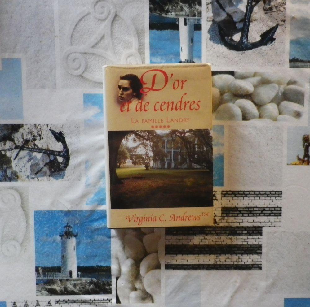 D'OR ET DE CENDRES T5 LA FAMILLE LANDRY Virginia C. ANDREWS 4 Bubry (56)