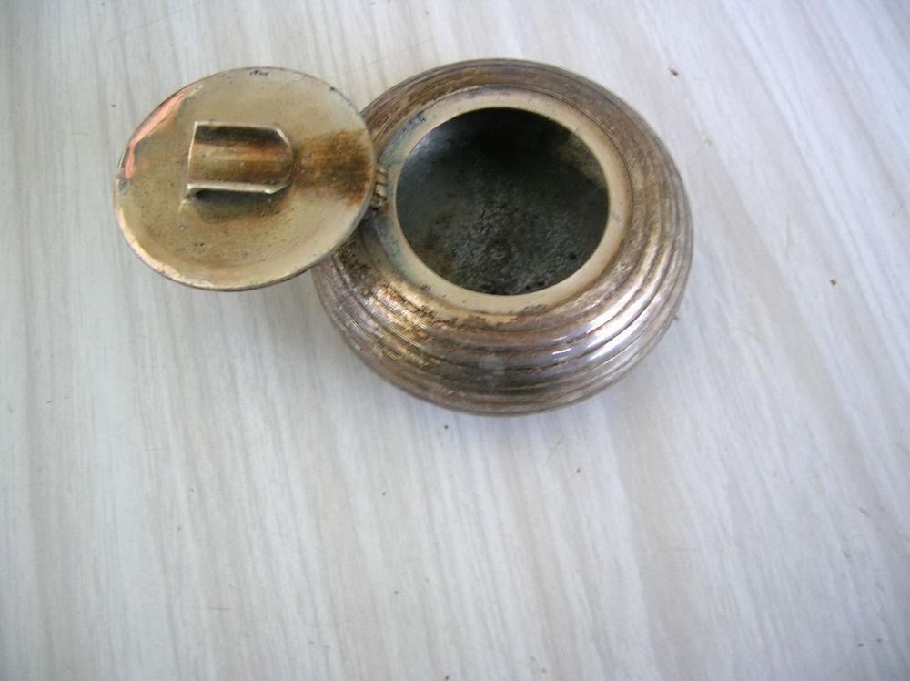 Cendrier métal argenté 13 Nantes (44)