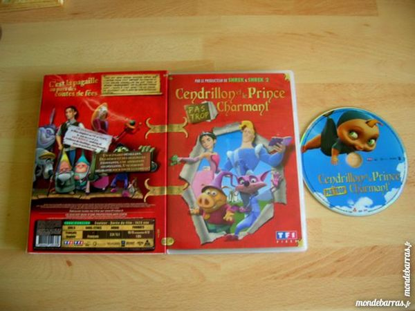 DVD CENDRILLON et LE PRINCE CHARMANT 8 Nantes (44)