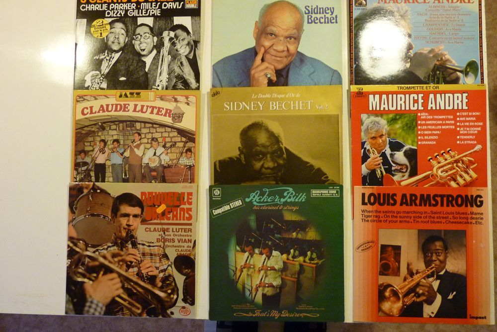 Cent quatre vingt quatre vinyles à saisir 600 Pithiviers (45)