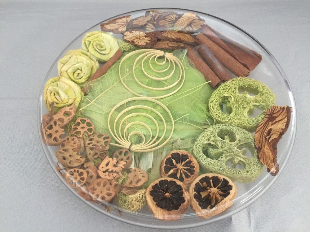 CENTRE DE TABLE VIDE-POCHES PLATEAU PLAT POT POURRI ART 29 Marseille 11 (13)