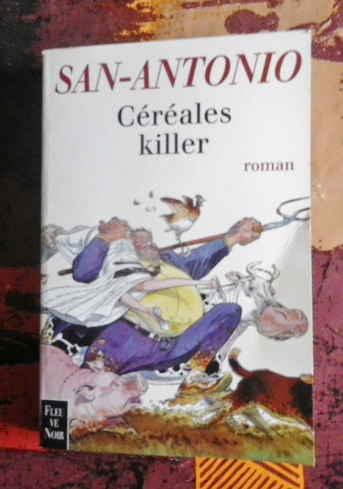 CEREALES KILLER de SAN-ANTONIO Ed. Fleuve Noir 5 Attainville (95)