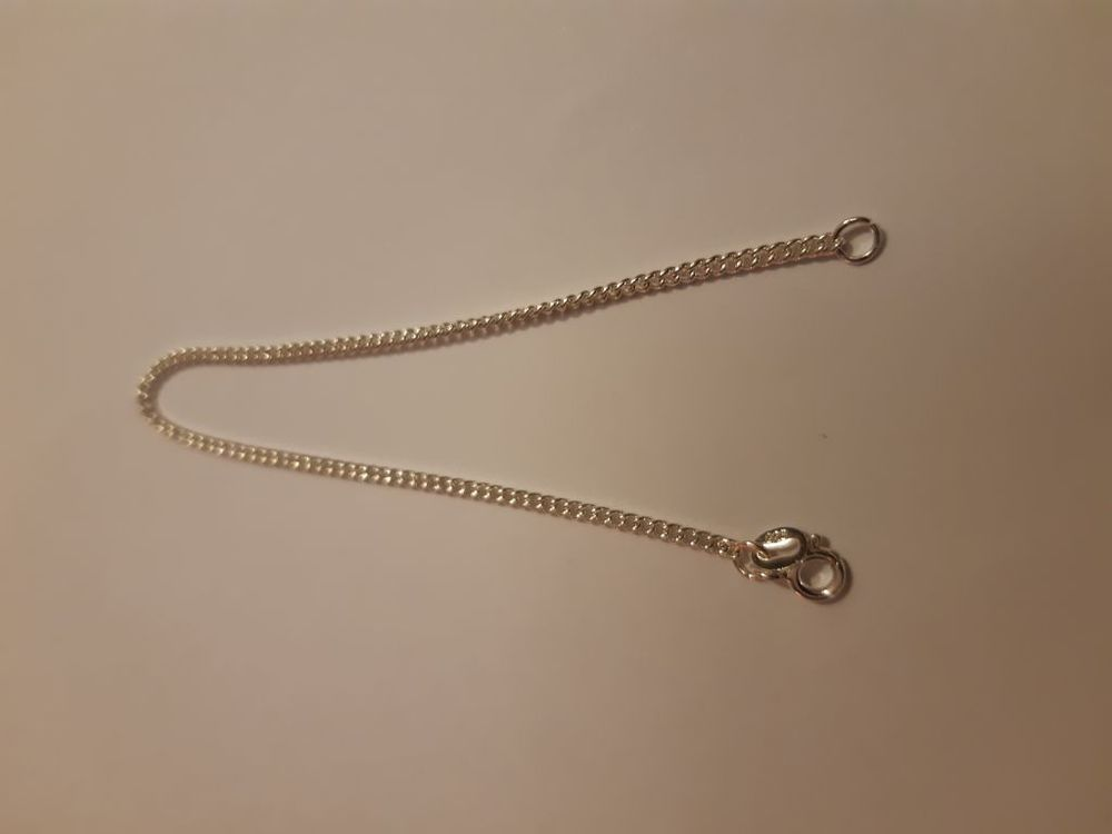 chaine en argent 925, longueur 15 cm, largeur 2 mm  8 La Seyne-sur-Mer (83)