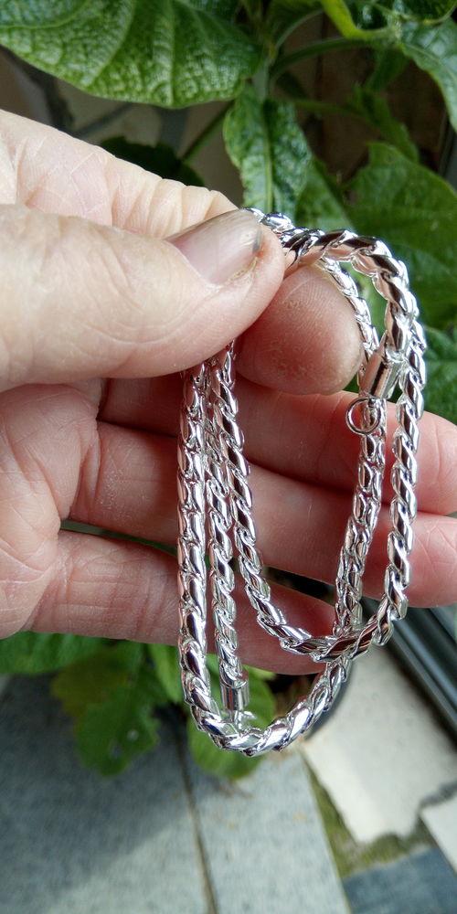 chaine en argent sterling 925 longueur 50 cm  10 Seysses (31)