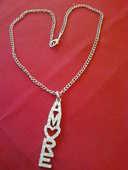 Chaine plus pendentif Amour c?ur stress N° 601 10 Bragny-sur-Saône (71)