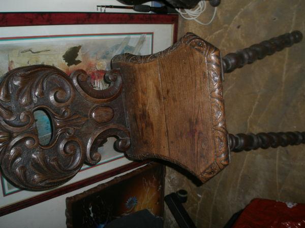 chaise 19eme bois 100 Montreuil (93)