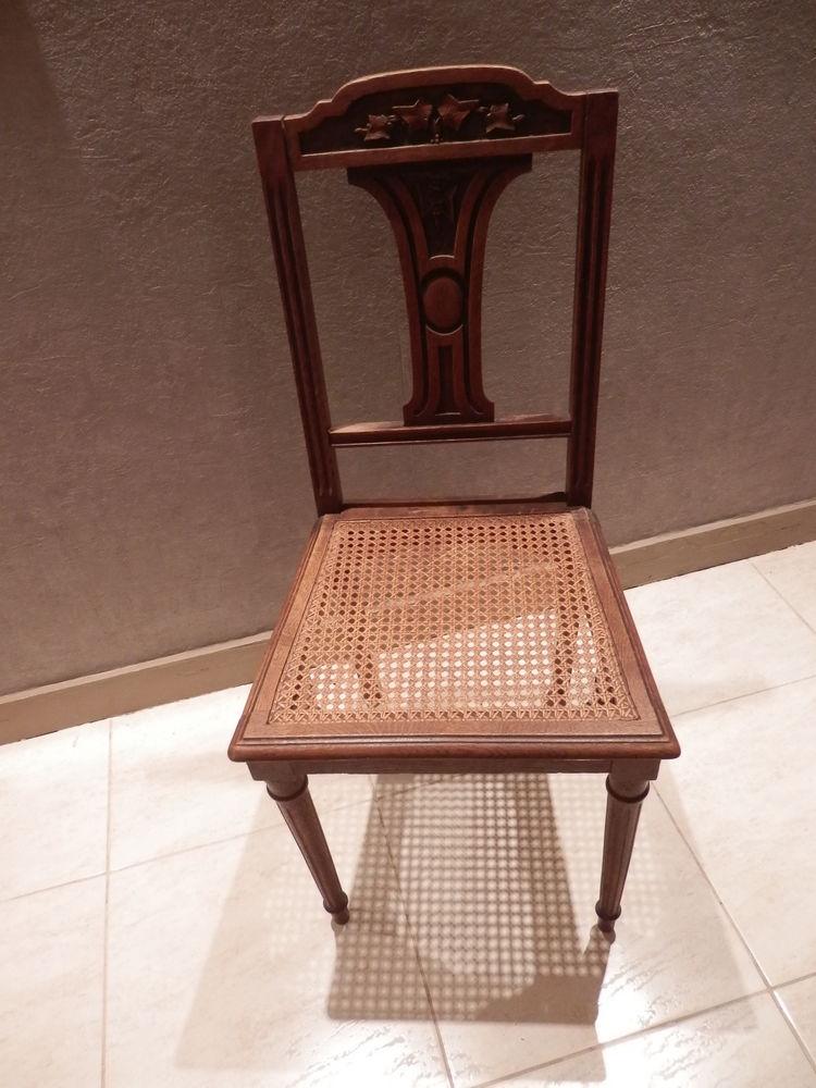 Chaise ancienne cannée 50 La Garenne-Colombes (92)