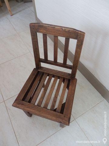 Chaise ancienne pour enfant 32 La Garenne-Colombes (92)