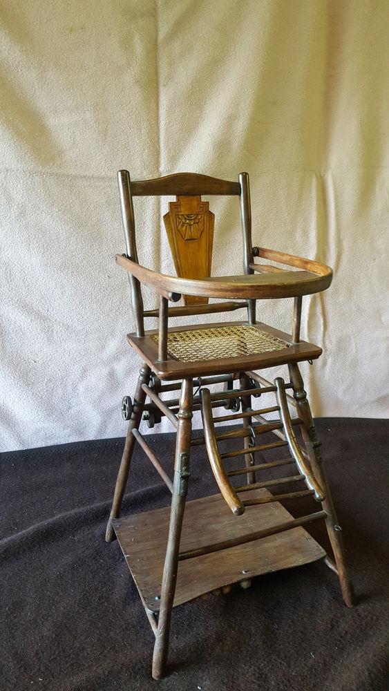 chaise bébé bois convertible  30 Château-Thierry (02)