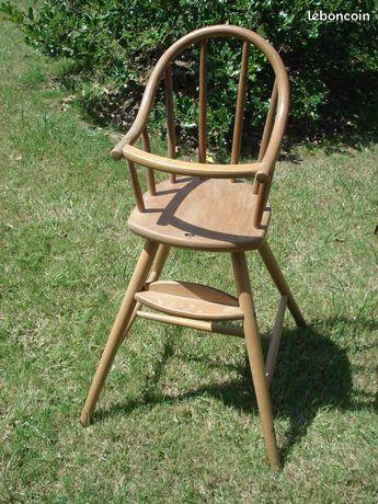 Chaise bébé en bois vintage ou autre modèles 10 Mérignies (59)