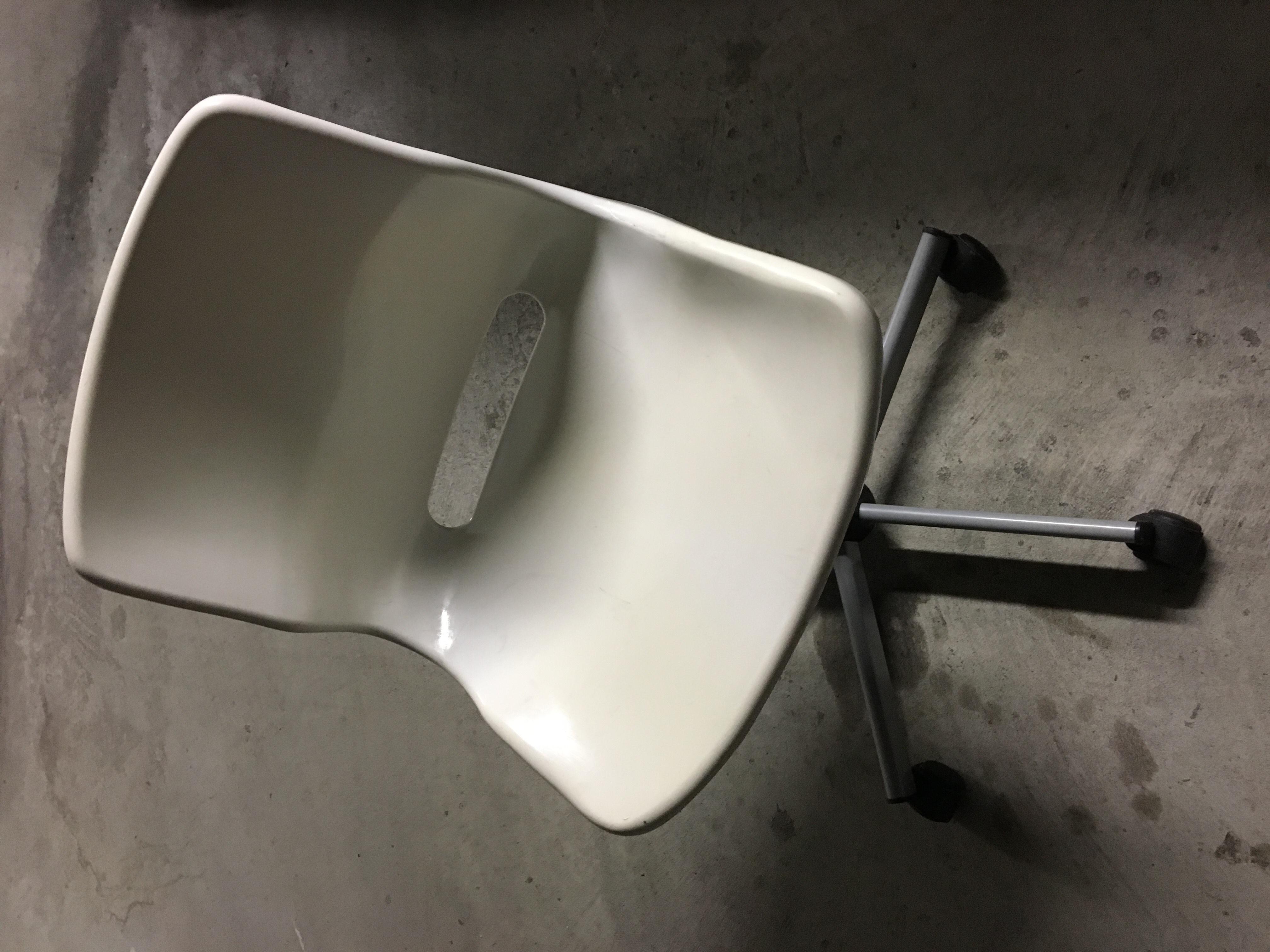 Chaise Ikea Blanche Metal — Lamichaure.Com