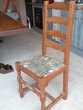 Chaise bois et tissus 50 Aix-en-Provence (13)