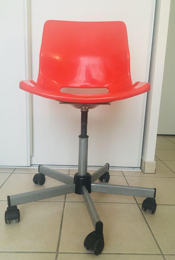 Chaise de bureau rouge 0 Nice (06)