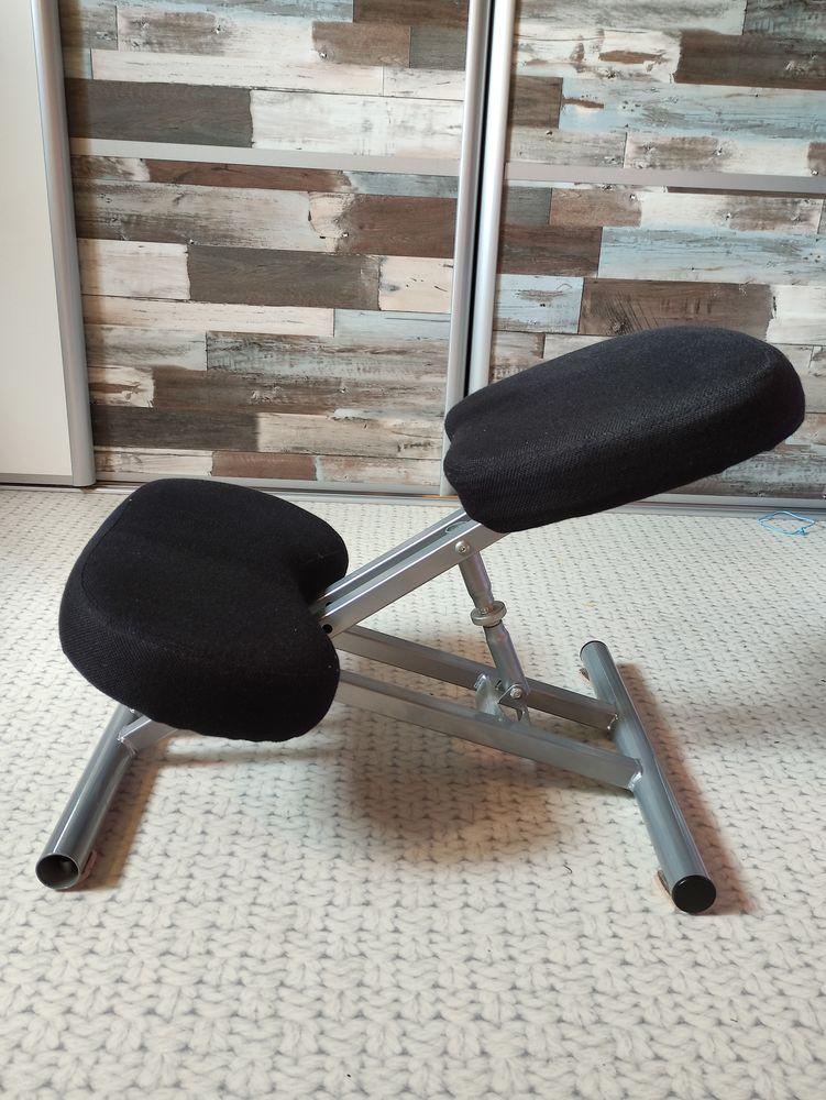 Chaise de bureau tissus noir 10 Hoenheim (67)