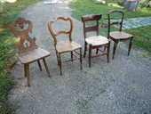 Chaise cannée déco/bois esprit haute époque 20 Castres (81)