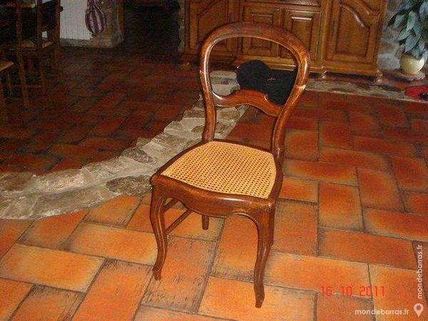 chaise cannée 10 Sainte-Sigolène (43)