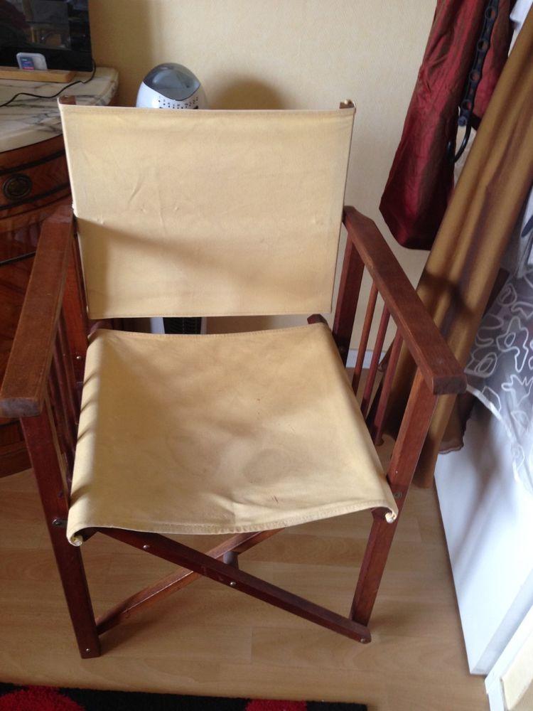 Chaise en chêne pliable POUR COLLECTIONNEURS 60 Ivry-sur-Seine (94)