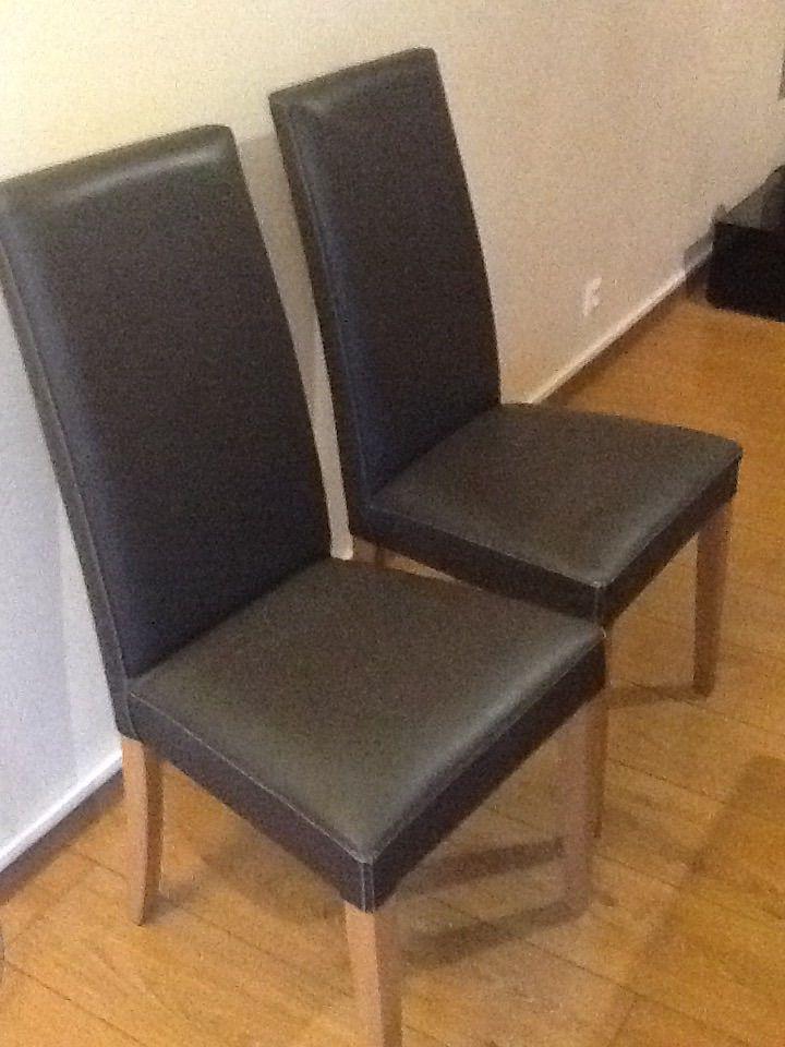 chaise cuir 150 Thonon-les-Bains (74)
