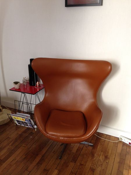 Chaise Design Egg Chair Meubles