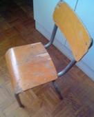 chaise d'écolier  80 Nangis (77)