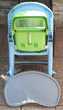 Chaise enfant réglable et pliable. Puériculture