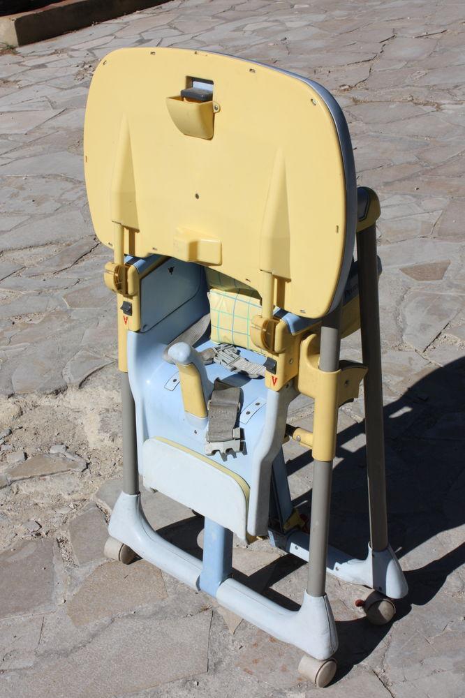Chaise enfant à roulettes pliable Peg Perego 15 Châteaurenard (13)