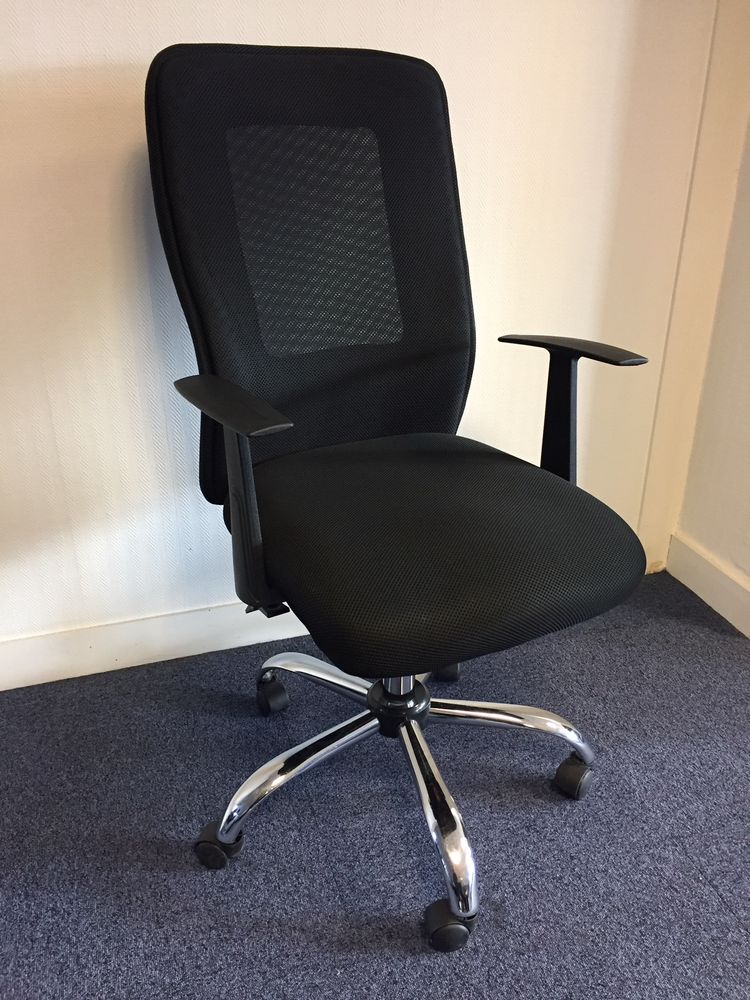 Chaise ergonomique noire 50 Noisy-le-Grand (93)