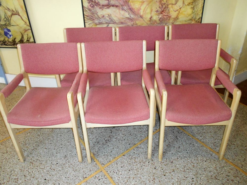 chaise fauteuil très confortable rose à retapisser restaurer 10 Monflanquin (47)