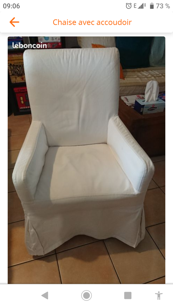 Chaise, fauteuil  45 Aubignan (84)