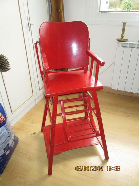 Achetez chaise haute occasion annonce vente lebucqui re 62 wb149524278 - Chaise haute modulable ...