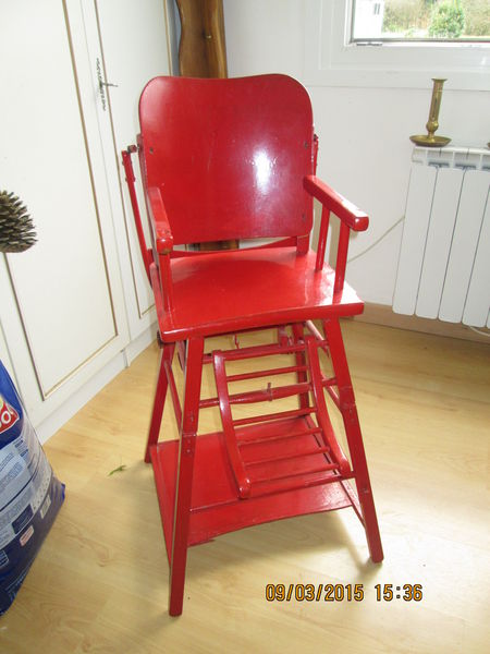 achetez chaise haute occasion annonce vente lebucqui re 62 wb149524278. Black Bedroom Furniture Sets. Home Design Ideas