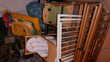 chaise haute, couffin, vélos, poussette; sapin de noel Puériculture
