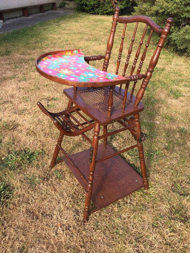 Chaise haute enfant ancienne 50 Dammarie-les-Lys (77)