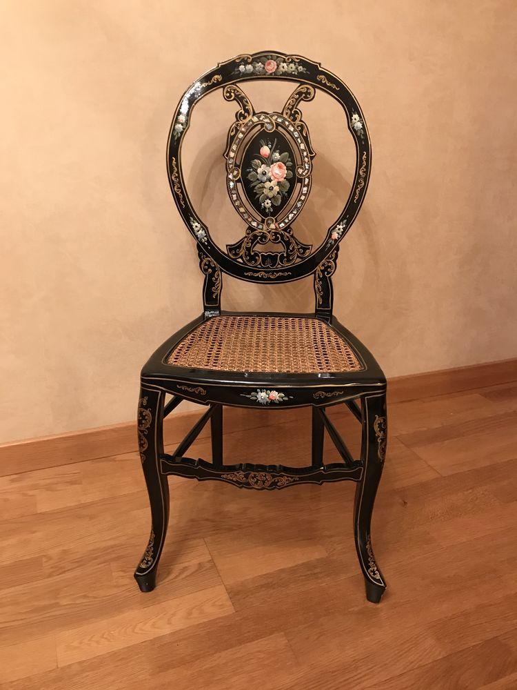 Chaise laquée noire 250 Thionville (57)