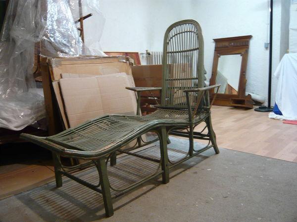Achetez chaise longue occasion annonce vente viane 81 for Chaise longue en rotin ancienne