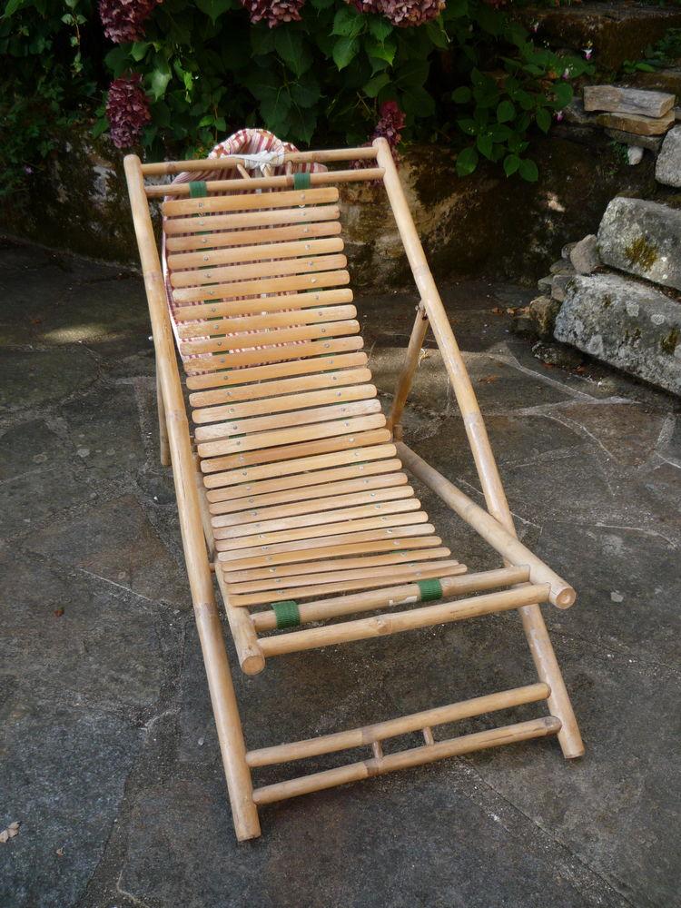 Chaise longue bambou (h) 65 Castres (81)