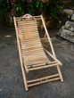 Chaise longue bambou (h)