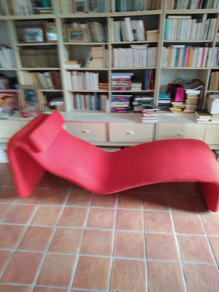chaise longue djinn rouge designer Mourgue 0 Marcorignan (11)